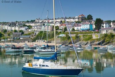 The lovely seaside town of New Quay