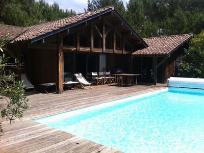 Photo for Comfortable villa with heated pool and secure