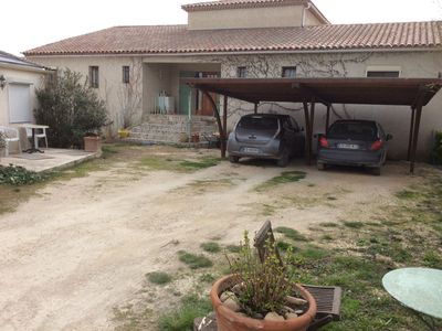Photo for Large house on the edge of a protected area, with swimming pool, 5kms from Arles