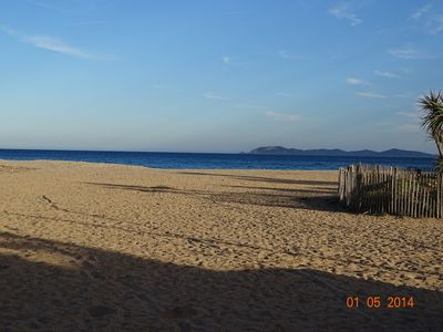 Photo for VILLA 50m from the beach of Ayguade, in front of the island of Porquerolles