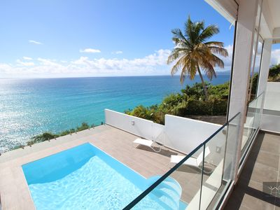 Photo for Superb LOFT Design and contemporary, sea view and swimming pool in Gosier