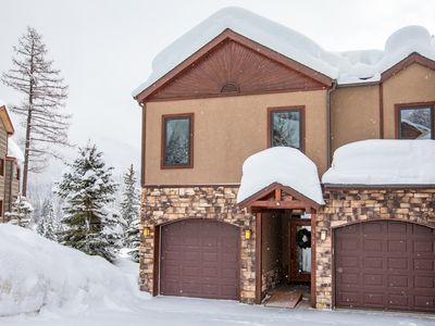 Photo for Enjoy the best view of Big Mtn from this stunning unit! 4BD 4.5BA w/ Hot Tub!