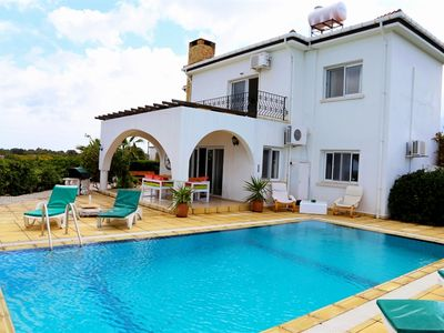 Photo for Villa Giorgina sleeps 8 people with 4 bedrooms and 2 bathrooms