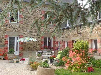 Photo for Charming cottage renovated quiet village close