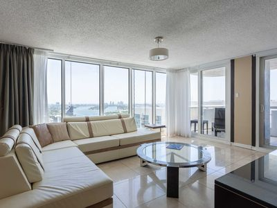 Photo for Hip and Modern Condo with Balcony and Hot Tub