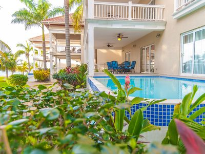 Photo for Beachfront with private pool in Tranquil Lawson Rock Community
