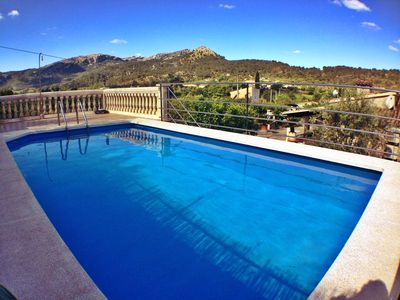 Photo for Lovely Villa 10 minutes walk from Pollensa old town.