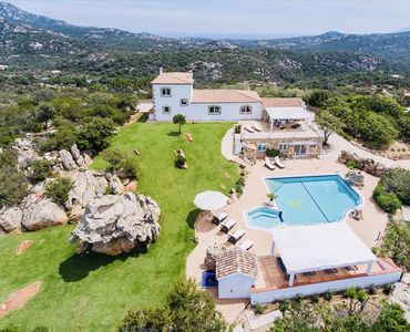 Photo for PORTO CERVO LUXURY VILLA WITH PRIVATE SWIMMING POOL, BREATHTAKING VIEW, SEA VIEW