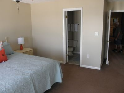 Photo for This townhouse is one mile from Pier Park with
