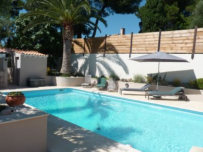 Photo for PROMO Summer - Villa- standing - heated swimming pool - sandy beach at 100 m