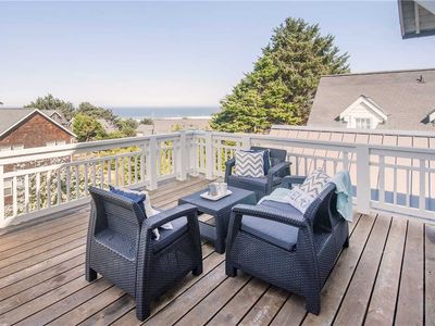 Photo for Large Stunning Luxury Ocean View Beach Home in Roads End!