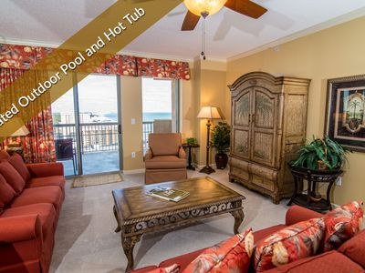 Photo for Panoramic View - Large Wraparound Balcony. Upscale Retreat. Book Now - $99 Deposit Special.