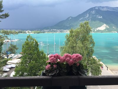Photo for UNIQUE IN ANNECY large style apartment 150 m2 lakefront for 6 people