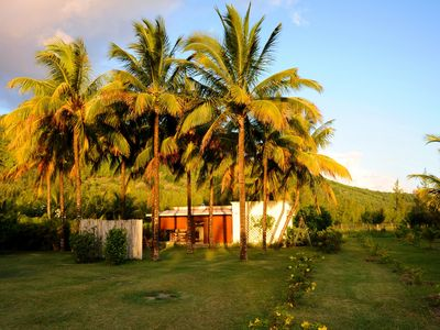 Photo for Villa Chez Zaza in a beautiful garden of palmtrees