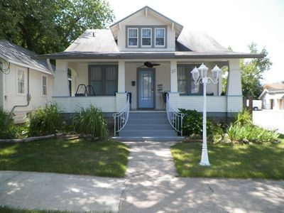 Photo for Walk to Breweries!  Family friendly! Huge porch and new back deck!