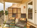 Your private balcony loungers....