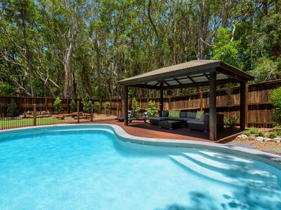 Photo for 13 Orania Court, Rainbow Shores - Pool, sleeps 8, air conditioning, fire pit