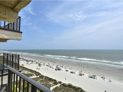 Photo for CHIPPER AND FUN OCEANFRONT 3 bedroom 3 bath with an Outdoor Pool