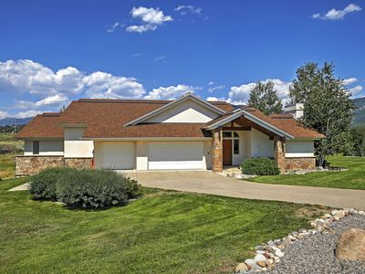 Photo for 4BR Steamboat Springs Home by Rita Valentine Park!