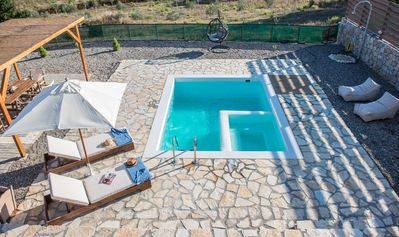 Photo for Villa OMIKRON maisonette with pool 5km fromLefkada