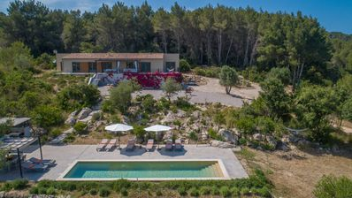 Photo for Beautiful house with pool and playground, near the sea, Arta, Mallorca