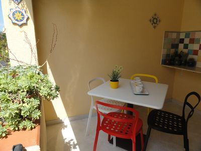 Photo for OLTREMARE - COMFORTABLE AND BRIGHT APARTMENT A FEW STEPS FROM THE BEACH