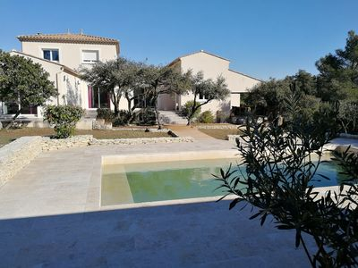 Photo for Nice and spacious villa between Nîmes and Uzès