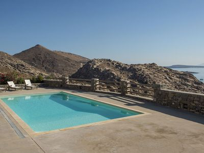 Photo for Panoramic Villa Mycenaean , with 6 bedrooms, 12 sleeps, private pool