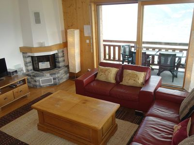 Photo for 3*+, 2-bedroom-apartment for 4-6 people located in the center of the resort, at 250m from the skilif