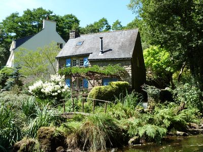 Photo for Converted 17c Watermill Offering Peace & Tranquillity in the Heart of Brittany