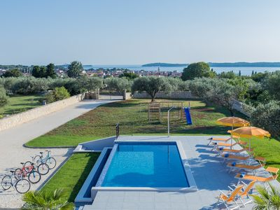 Photo for Beautiful villa with swimming pool, sea view, barbecue, wifi, suitable for family