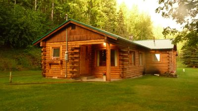 Photo for SUMMER SPECIAL - 30% OFF - Alaskan Cabin Featured on Discovery & History Channel