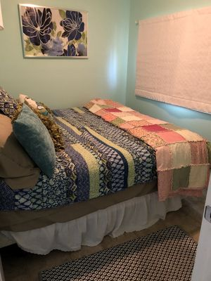 Master Bedroom overlooks Lake Superior; King size bed