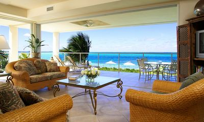 Photo for Large Luxury Condo on Grace Bay Beach over 2,100 square feet