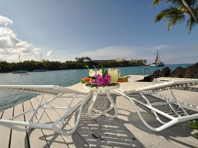 Photo for 'Hale Kai' - Ocean Front Retreat - Private Tennis Court & Pool