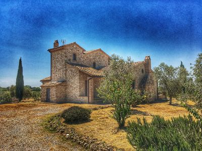 Photo for Beautiful stone country house - wine tours arranged