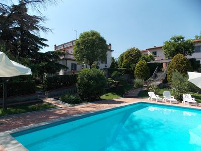 Photo for Stunning private villa with WIFI, private pool, TV, terrace, panoramic view and parking
