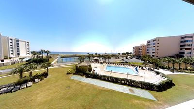 Photo for Unit 304 Beachfront, Full Ocean View, Balcony & Daily Beach Umbrella & Chairs