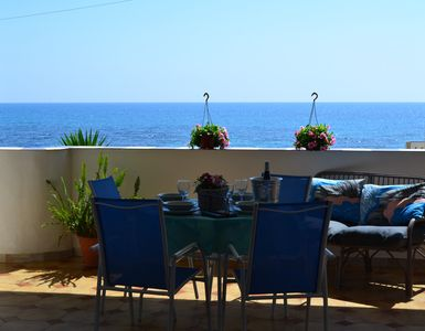 Photo for Lovely little house on the enchanting sea of superb coast of Agrigento