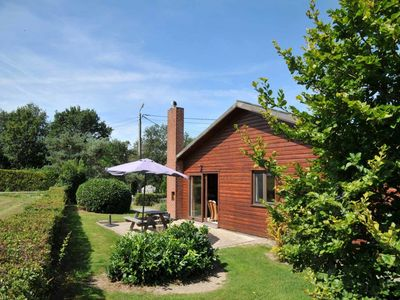 Same level bungalow for 6 persons, at 150 m distance from the Ourthe. Recognition by the Walloon Reg