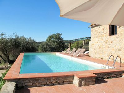 Photo for Apartment Podere Siepi (CTC293) in Castellina in Chianti - 6 persons, 3 bedrooms