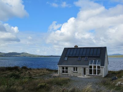 Photo for Eco-friendly house beside the sea in the wildness and solitude of Connemara