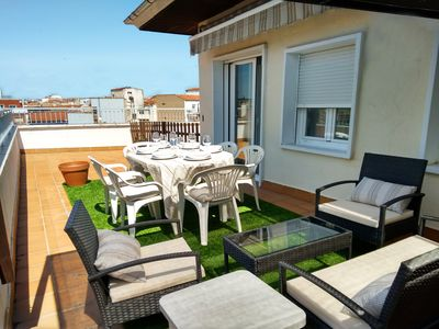 Photo for Salamanca: PENTHOUSE APARTMENT WITH LARGE TERRACE, NEWLY RENOVATED, IN THE CENTER OF SALAMANCA
