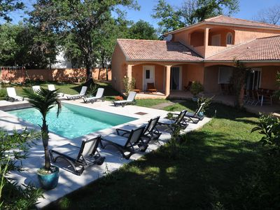Photo for Colonial Villa 12 pers - 300 m from the sea