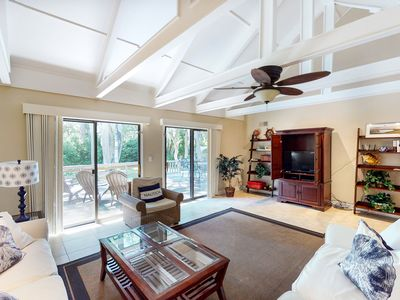 Photo for Family-friendly condo w/ a furnished deck & shared pools - near golf & shops!
