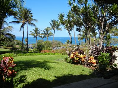 Our great view from the lanai