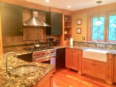 Photo for Walk to Town, Grand Open Family Room, Gourmet Kitchen, Hot Tub, Whiteface View