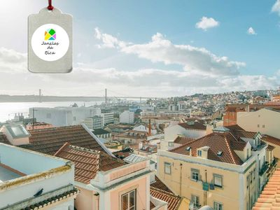 Photo for Windows of Bica - With a magnificent view over the Tagus River and SouthSide