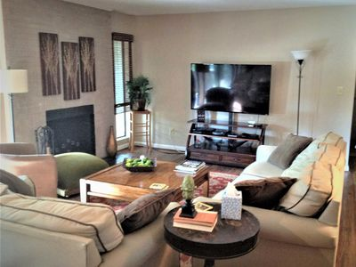 Photo for NEW LISTING!!  Cozy Condo Sleeps 6 with Golf course view of Course #5