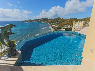 Photo for VILLA PARADISO -LUXURY HOME  WITH KNIFE EDGE POOL AND MESMERIZING OCEAN VIEWS